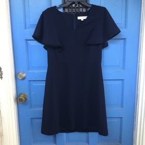 LOFT Size 8 Blue Dress